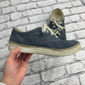L.L. Bean Distressed Canvas Sneakers